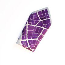 Budapest lila-szürke díszzsebkendő