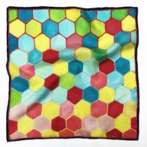 Hexa színes selyemkendő