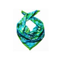 Kaméleon kicsi türkiz selyemkendő