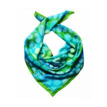 Kaméleon selyemkendő