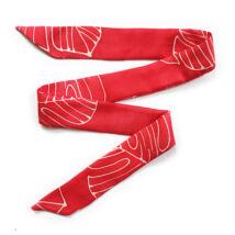 Skinny Mix&Match vékony selyemszalag vörös