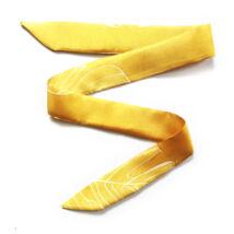 Skinny Mix&Match vékony selyemszalag napsárga