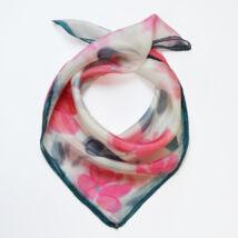 Tavaszi kicsi rózsaszín selyemkendő