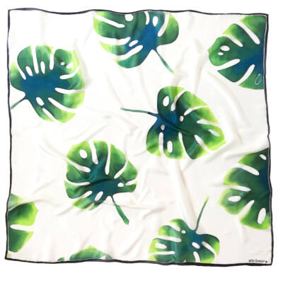 Pálma nagyméretű selyemkendő