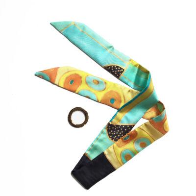 Skinny  Klimt selyemszalag