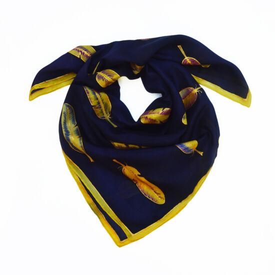 Volare lila selyemkendő