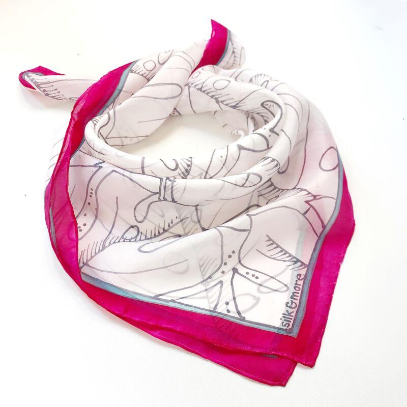Pálma pink-fehér 75