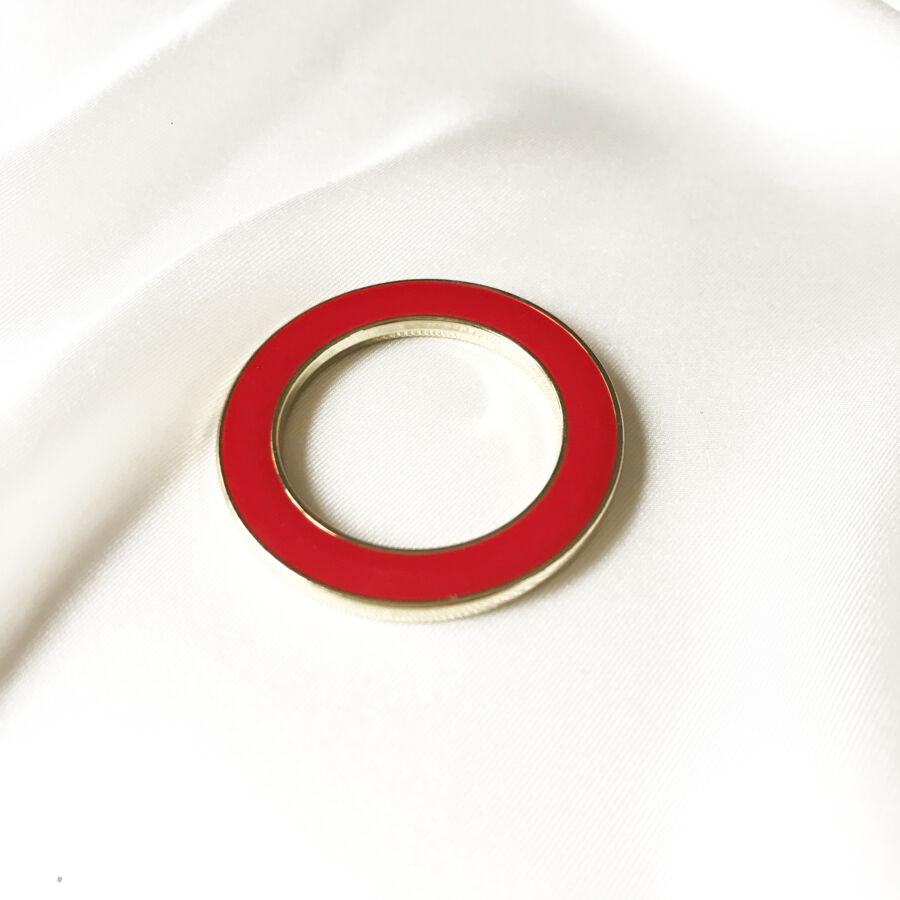 Mix&Match fémkarika vörös